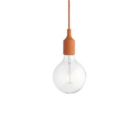 E27 orange - Závesná lampa oranžová