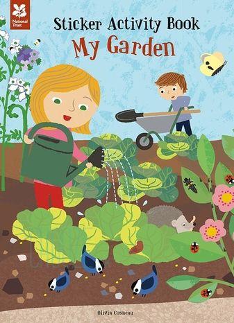 Sticker Activity Book - My Garden