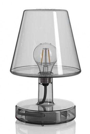 Nočná lampa Fatboy Transloetje: Transparent grey