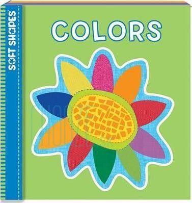 Penová kniha a puzzle do vody Soft Shapes Originals: Colors