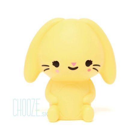 Detská nočná LED lampa Bunny Yellow - žltý zajačik
