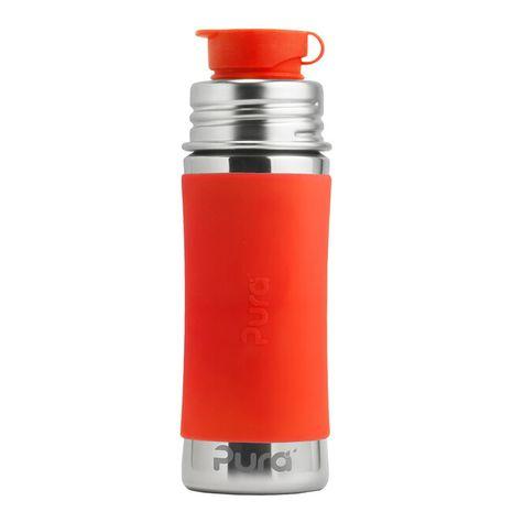 Pura nerezová fľaša so športovým uzáverom 325ml Oranžová