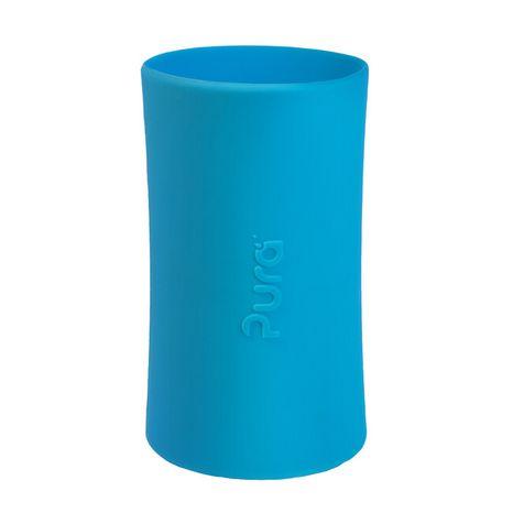 Pura Silikónový návlek na fľašu: Aqua