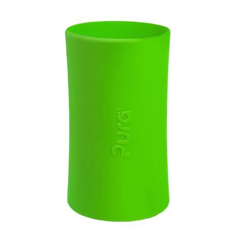 Pura Silikónový návlek na fľašu: Zelený
