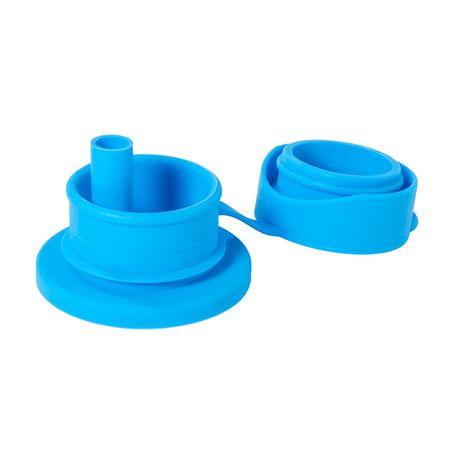 Pura Silikónový športový uzáver so slamkou: Aqua