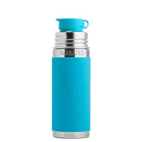 Pura TERMO nerezová fľaša so športovým uzáverom 260ml Modrá