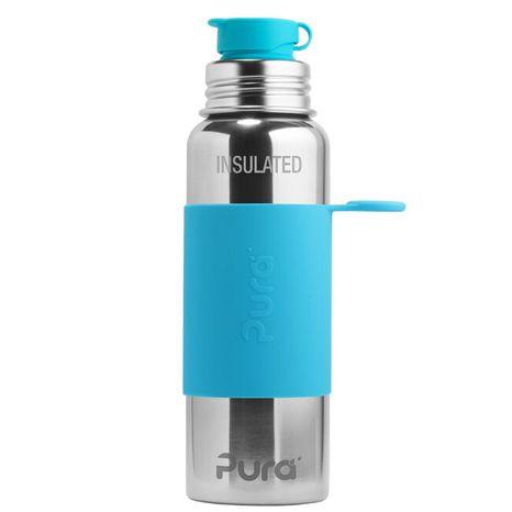 Pura TERMO nerezová fľaša so športovým uzáverom 650ml Modrá