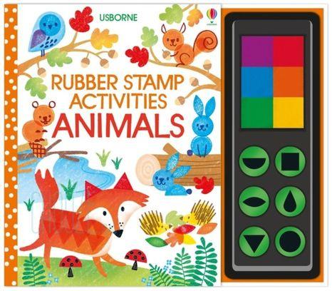 Rubber Stamp Activities: Animals
