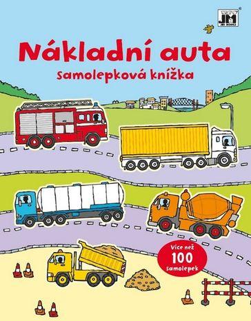 Samolepková knížka: Nákladní auta