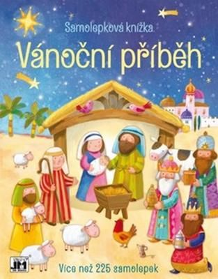 Samolepková knížka: Vánoční příběh