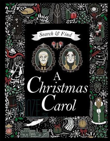 Search and Find A Christmas Carol: A Charles Dickens Search & Find Book