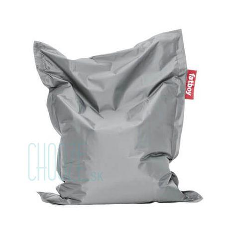 Sedací vak Fatboy Junior - Silver grey