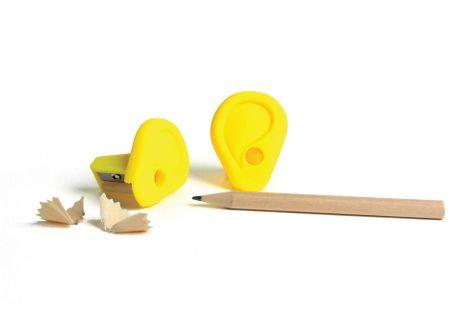 Strúhadlo na ceruzky Ear sharpener - Yellow