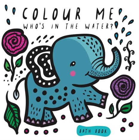 Wee Gallery Kniha do vody: Colour Me Who's in the Water?