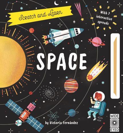 Vyškrabovacia kniha: Space