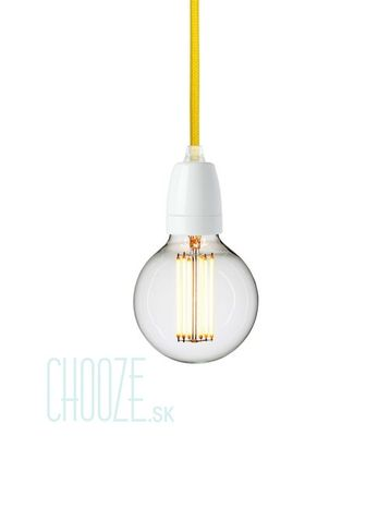 Závesná lampa NUD White - TT101 Empire yellow