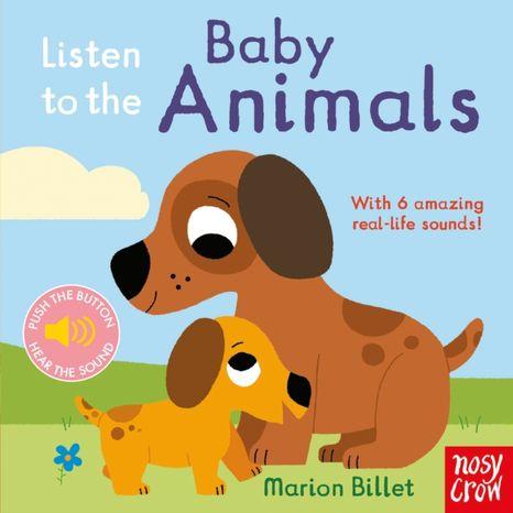 Zvuková kniha: Listen to the Baby Animals