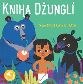 Zvuková rozprávková kniha: Kniha Džunglí